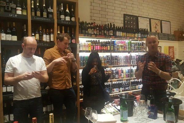 sharing-knowledge at seven cellars
