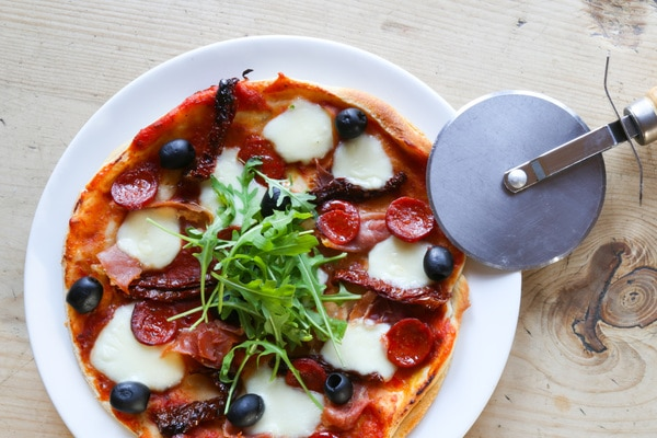 gluten free restaurants Brighton, pizza at the bull inn henfield