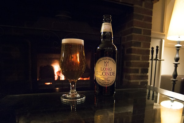 Wingrove House, Food Review, Countryside, Beer by the fire