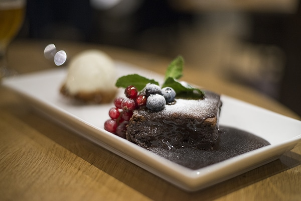 Wingrove House, Food Review, Countryside, Chocolate Dessert
