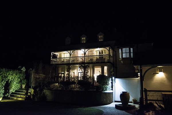 Wingrove House, Food Review, Countryside, Outside at Niight