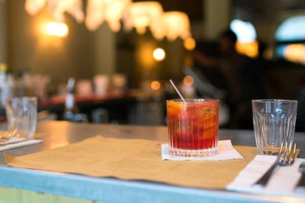 Cocktail at Polpo in Brighton