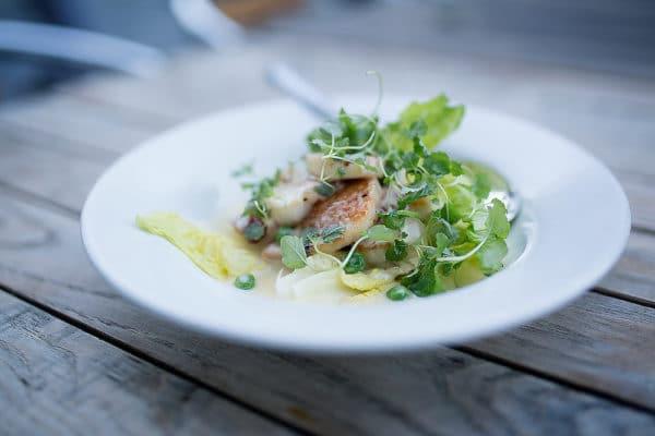 Main dish at Polpo Brighton