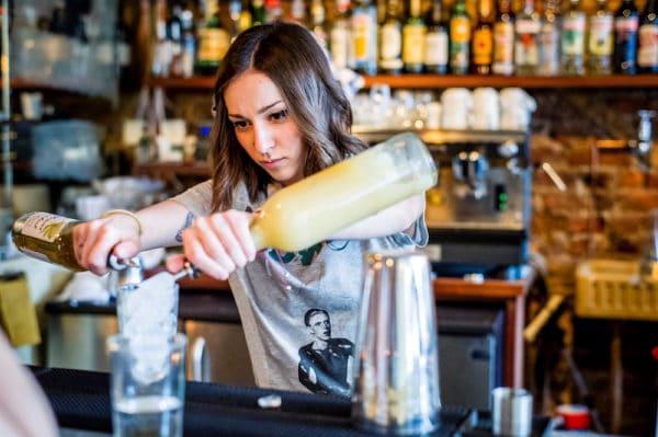 Cocktails t Polpo Restaurant in Brighton