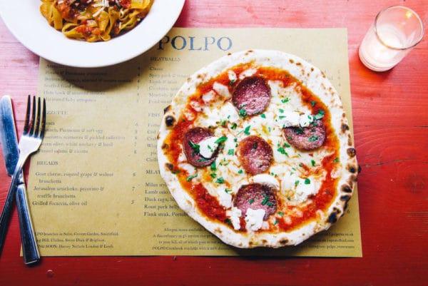 Pizza t Polpo Restaurant in Brighton