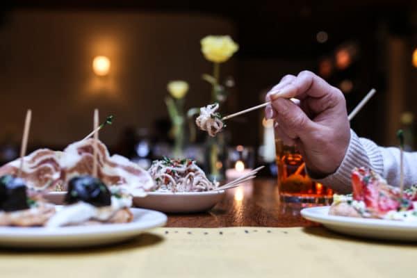 Lunch in Brighton - Baby octopus at Polpo Venetian tapas Brighton