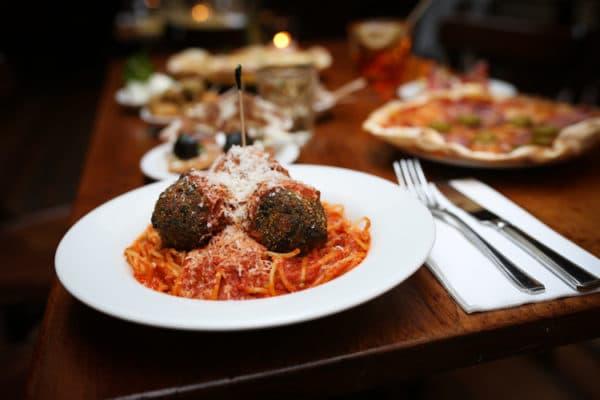 Meatballs at Polpo Venetian tapas Brighton