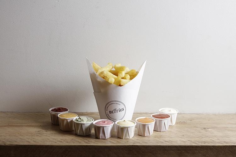 BrightonCoffee ShopBeFries, Brighton restaurant & cafe, chips