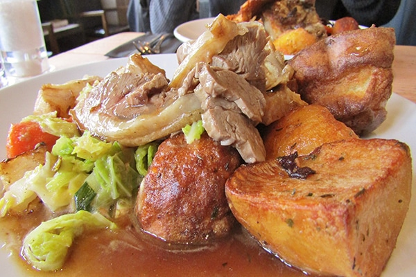 Libation, Hove, Sunday Roast Review, Roast lamb - Best Sunday Roasts in Brighton and Hove