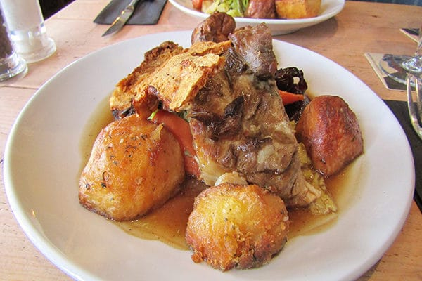 Libation, Hove, Sunday Roast Review, Roast belly of pork