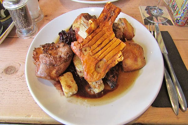 Libation, Hove, Sunday Roast Review, Slab of crackling