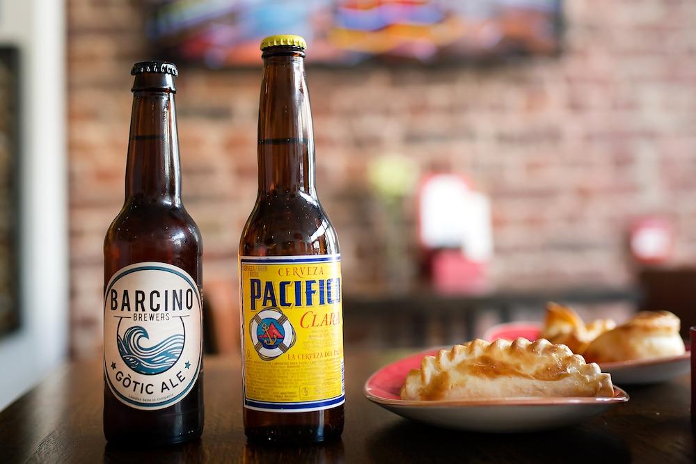 Beer and Empanadas at Cafe Malbec in Brighton
