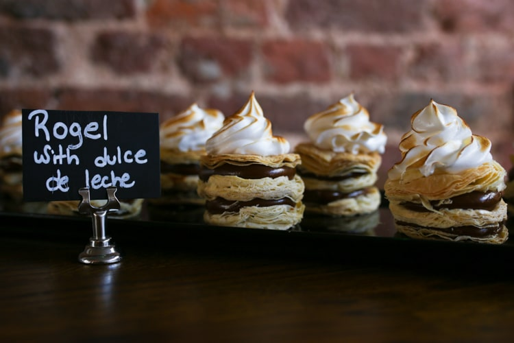Dulce du leche at Cafe Malbec