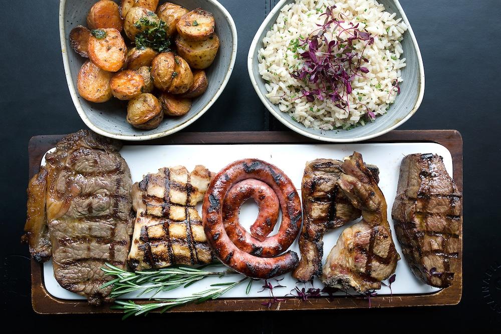 Sharing meat platter - best steaks in Brighton