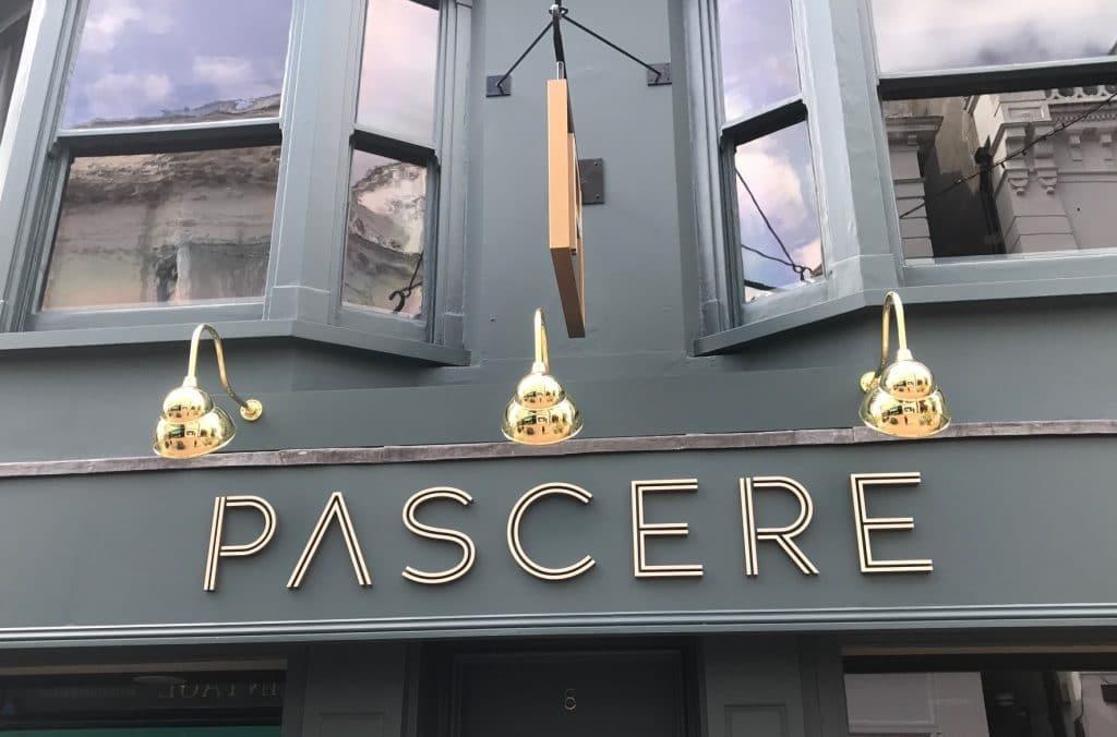 Pascere Restaurant Brighton