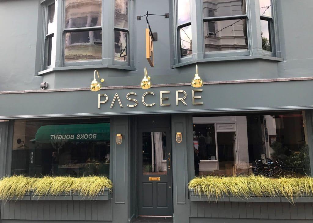 Pascere Restaurant in Brighton