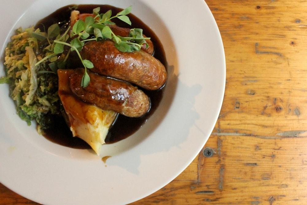 Sausage at The Black Lion in Brighton