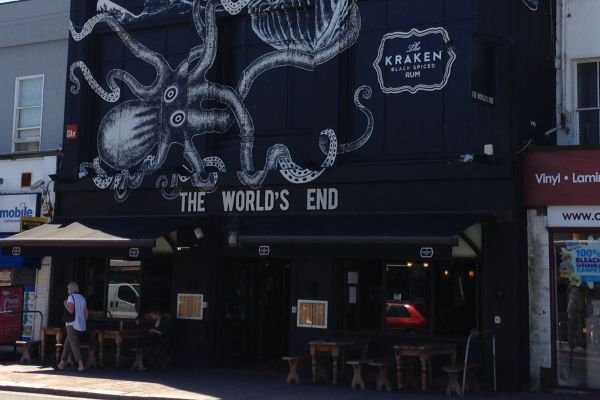 The Worlds End Pub in Brighton, Gastro Pubs Brighton