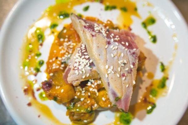 Senor Buddha fish thursday tuna and tumbet