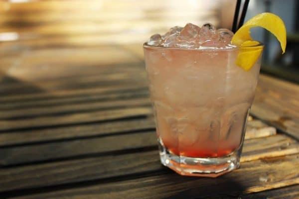 Cocktail at The Black Lion Pub