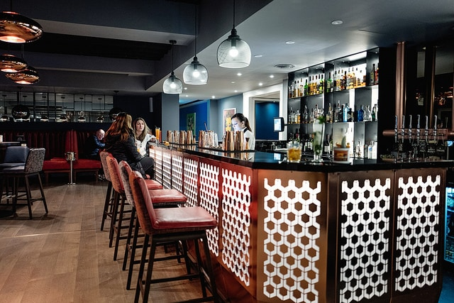 Bar at Malmaison Brighton - Dog Friendly Pubs Brighton