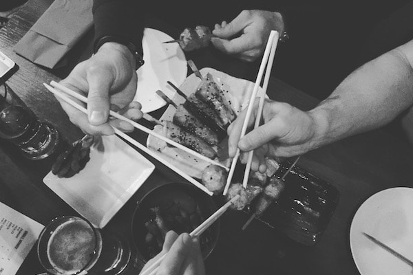 Bincho Yakitori Brighton. Included in Brighton's best restaurants.