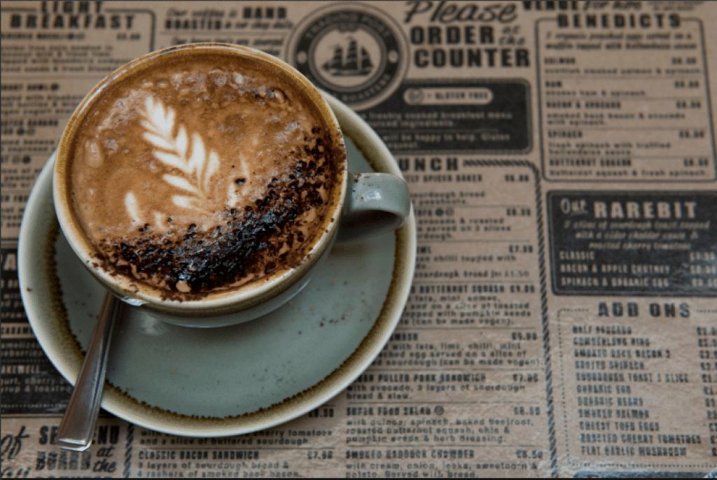 Coffee at Coffee Trading Post Roasters Restaurants Brighton