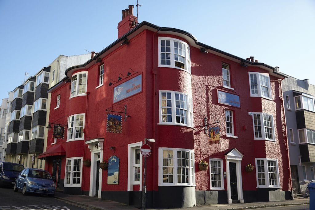 Lion-and-Lobster, Bravo Awards, Dog friendly pubs Brighton and Hove