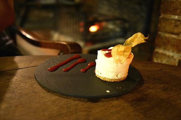 Fountain Inn, Ashurst, Dessert