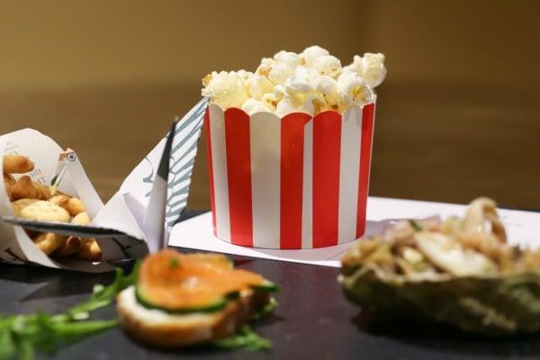 popcorn at merkaba brighton