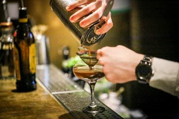 espresso martini at merkaba brighton
