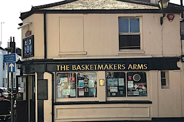 The Basker Makers pub North Laine Brighton