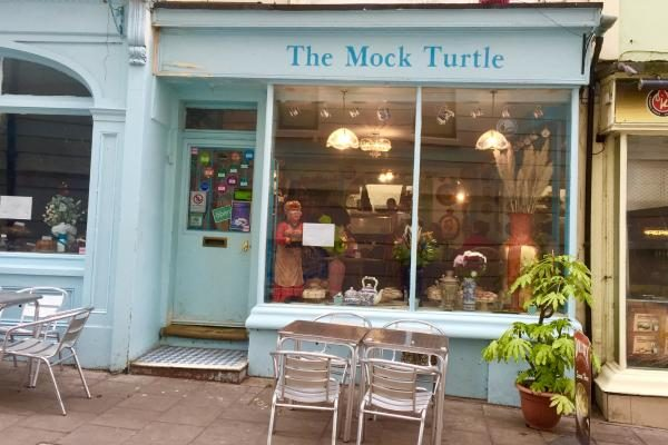 Mock Turtle Best Tea and Cake Brighton restaurant awards BRAVO