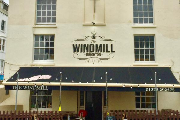 The windmill, food pub brighton