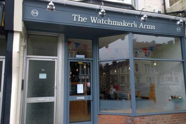 Bars Brighton - The Watchmakers Arms