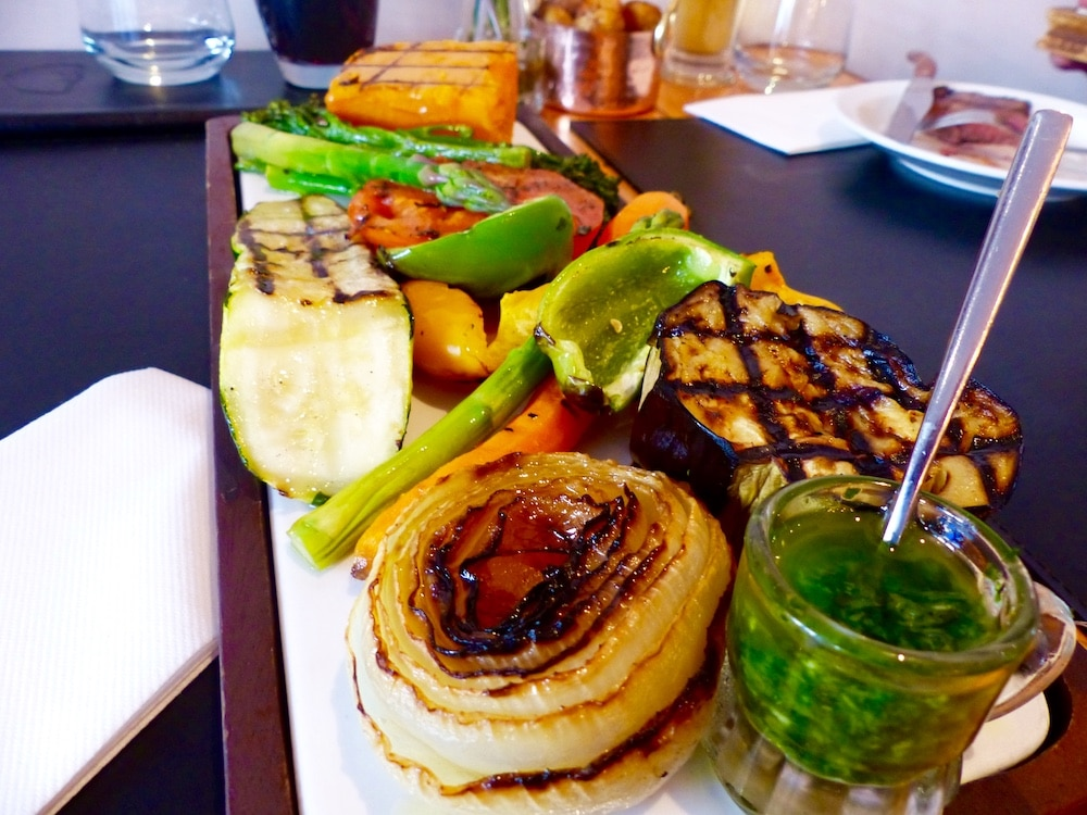 Veggie Platter at LatinoAmerica