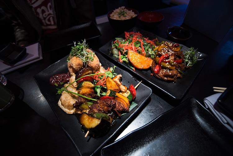 Moshimo, Japanese Restaurant, Brighton, Vegan Review, Duck & Skewers