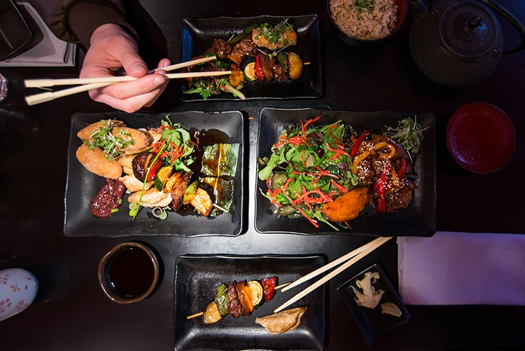 Moshimo, Japanese Restaurant, Brighton, Vegan Review, Duck & Skewers - Private Dining Brighton