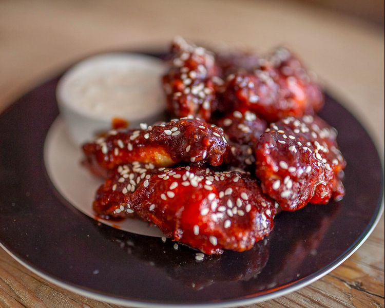 Wings at Sidekick Kitchen Brighton