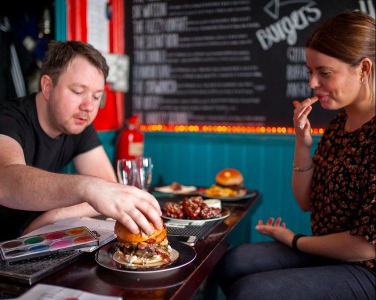 Sidekick Kitchen burgers Brighton