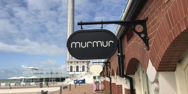 Murmur next to the Brighton i-360