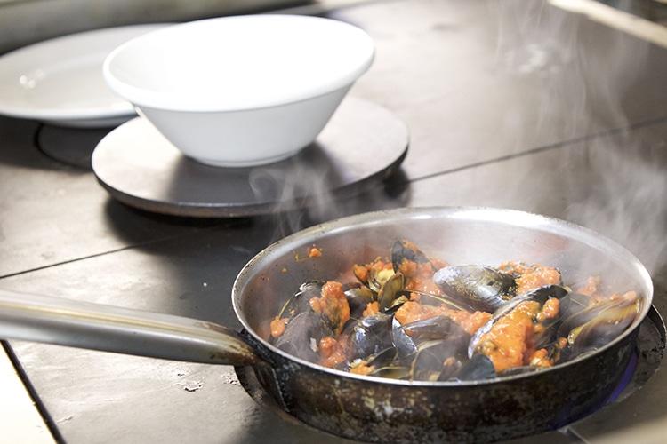 GB1 Restaurant, The Grand Hotel, Mussels, Brighton