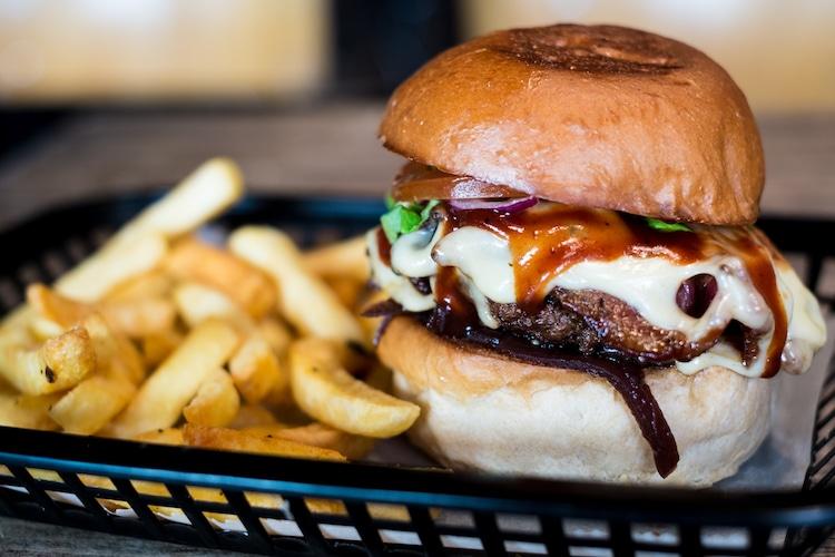Burger at The Revelator