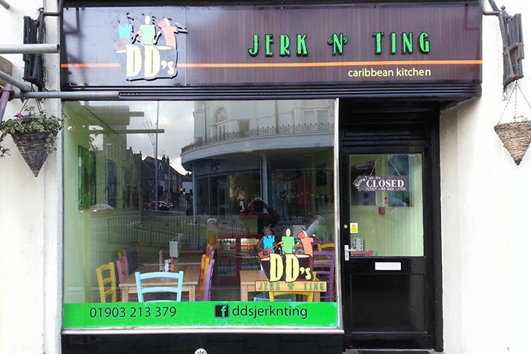 DD's Jerk n Ting, Worthing Caribbean restaurant, Sussex - Worthing Restaurants