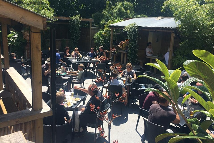 The Open House, food pub, Brighton, alfresco, garden