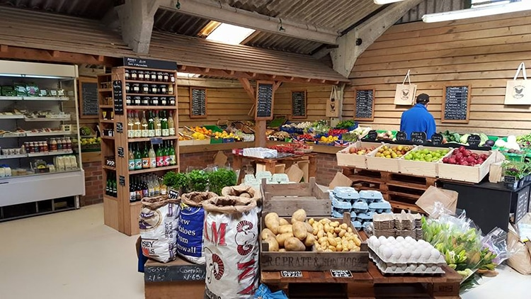 Park Farm Shop, Falmer, Brighton
