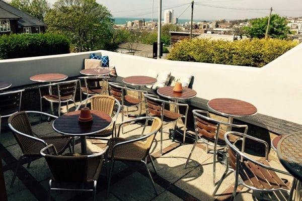 The Setting Sun, food pub, beer garden, Brighton