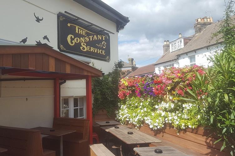 Constant Service, food pub, Hanover, Brighton