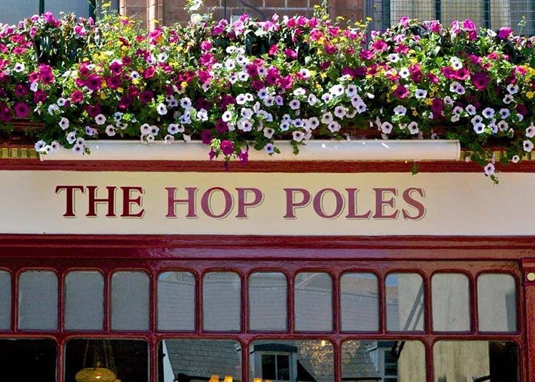 Hop Poles, food pub in Brighton, Brighton Pubs