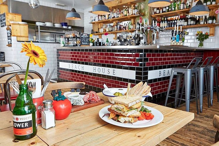 The Beach House, Worthing, Cafe, Sussex - Worthing Restaurants
